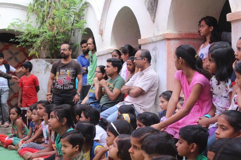 ceo sir_dhanraju s. visited saaz rang camp1